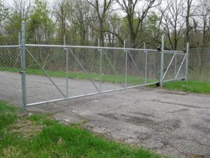 Fence Gates Chain Link Commercial Gate