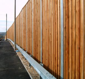 Commercial Wood Fence Contractor