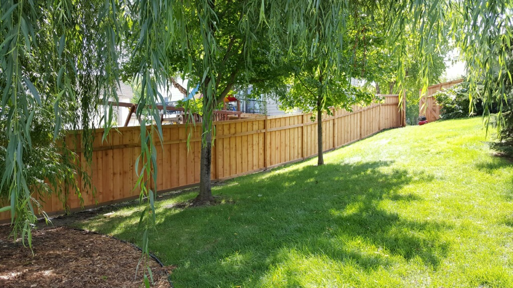 Cedar Wood Fence Installation Company near Andover, MN