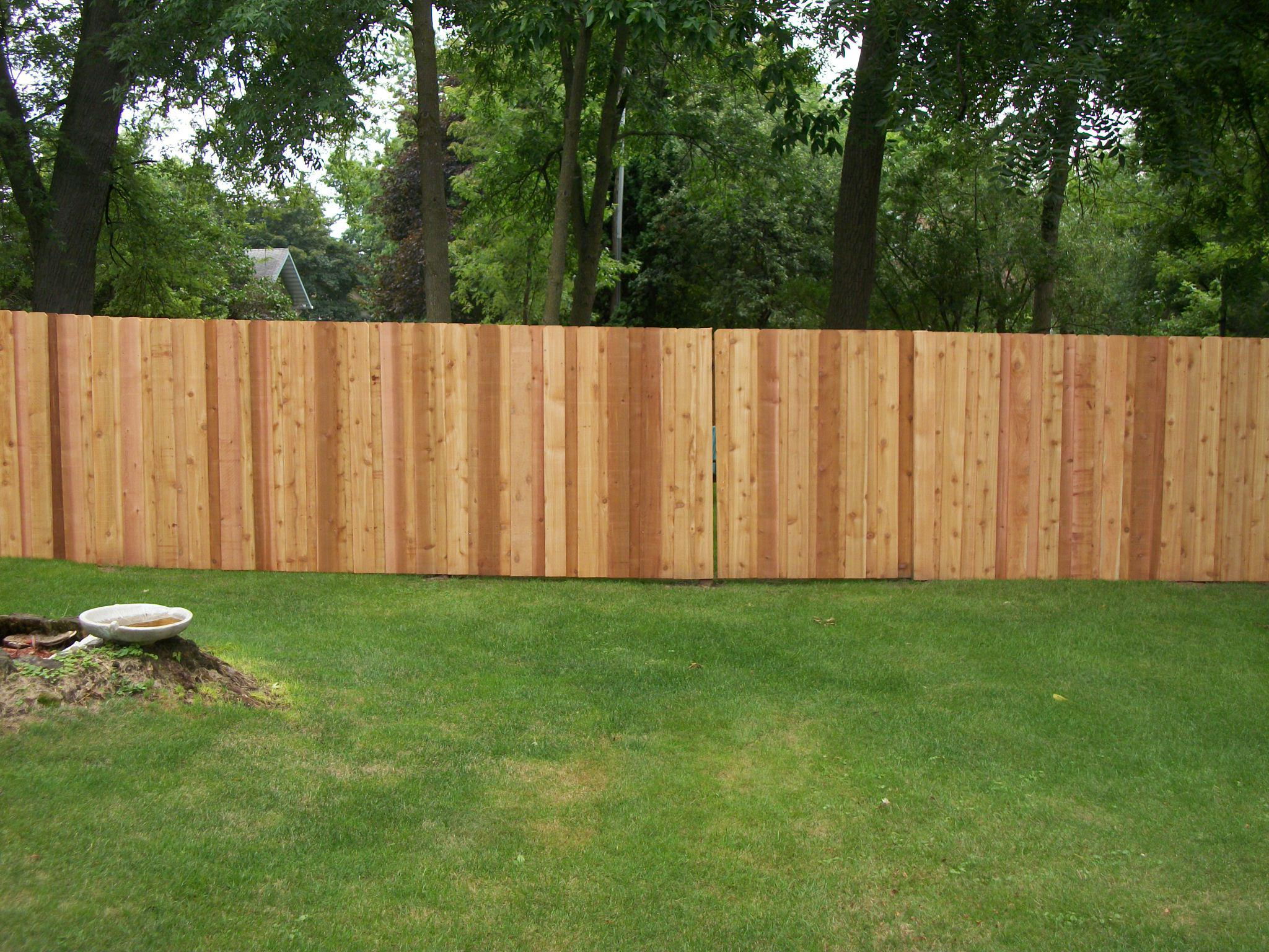 Picture of: Cedar Fence Installation Spring Lake Park Mn Twin Cities Fence