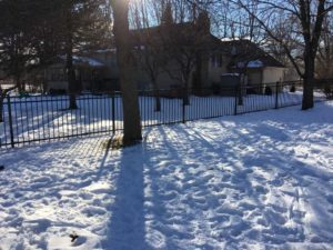 Winter Rod-iron Fence Contractor