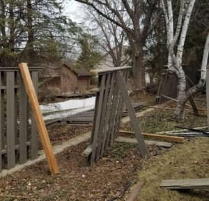 Fence Post Repair Contractor Blaine, MN