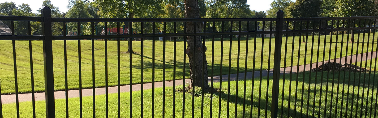 <!--Winter Installs-->Classic Steel Fences