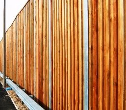 Commercial Wood Fencing Company Minneapolis