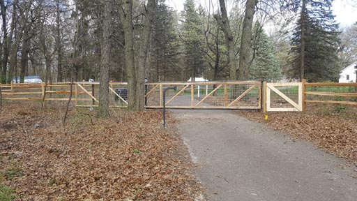 Driveway gate installation contractors MN