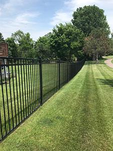 Aluminum Ornamental Fence Installation Company MN