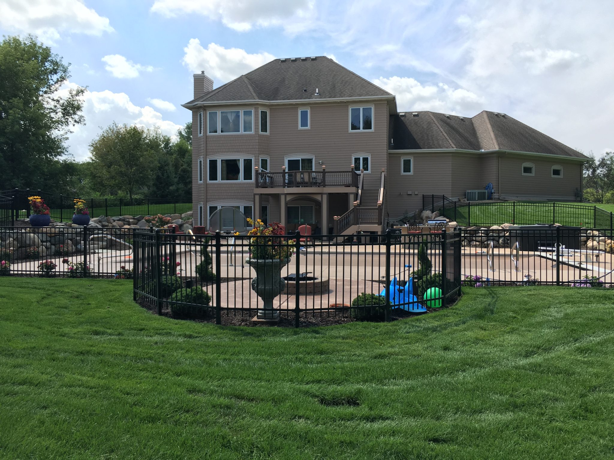 Steel Fence Contractor in MN