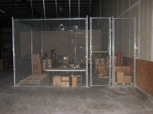 Indoor Fence Installation Twin Cities