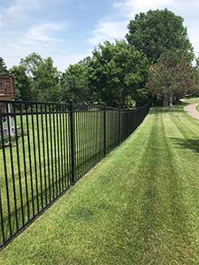 Ornamental Fence Installation in MN