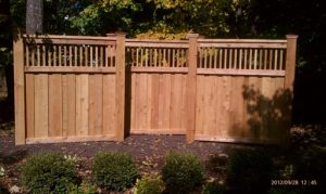 Cedar Fence Installer in MN