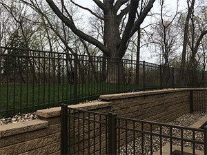 Custom Aluminum Ornamental Fencing