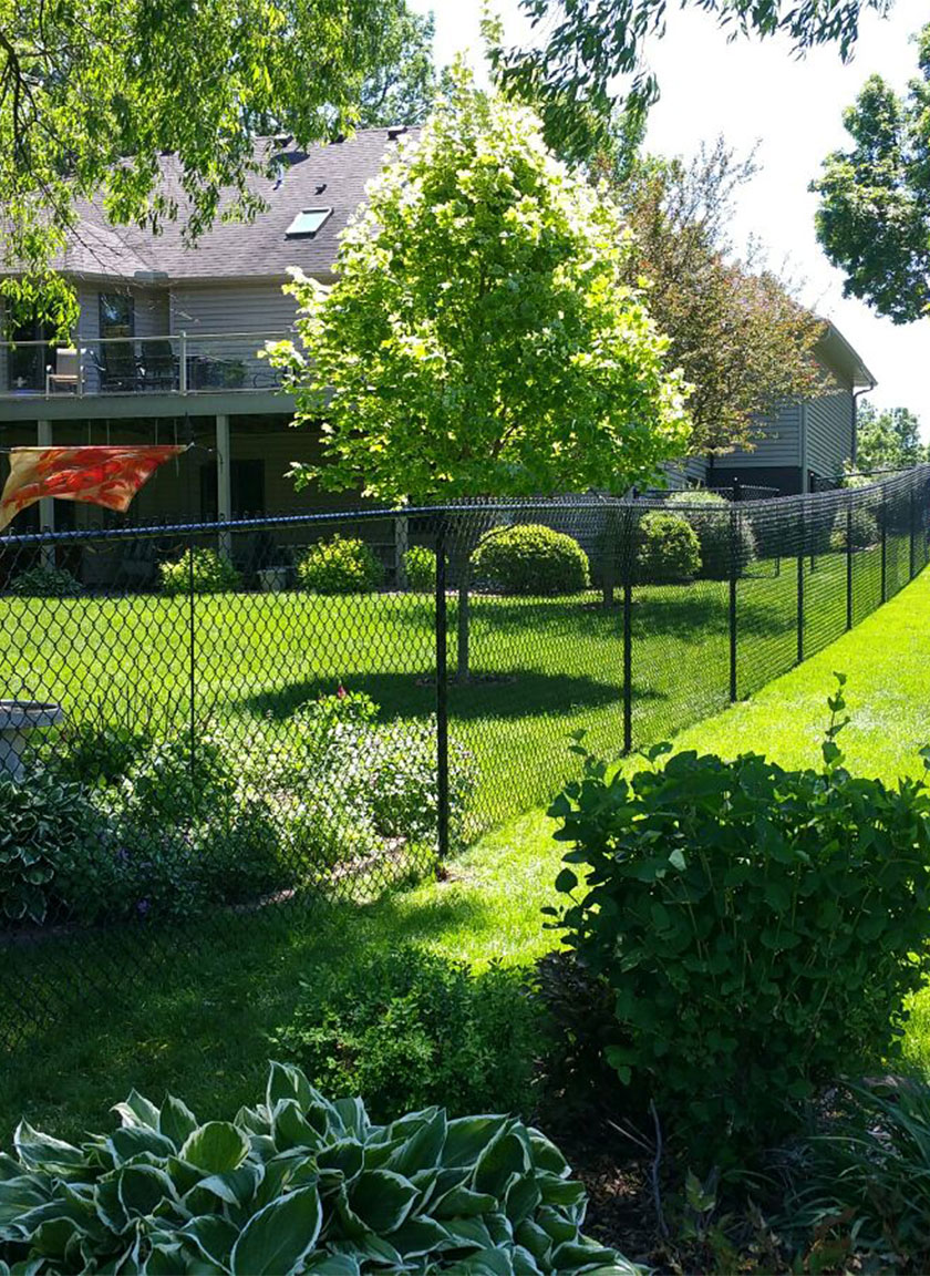 Chain Link Fencing System installed by Twin Cities Fence: Fence Contractor in MN