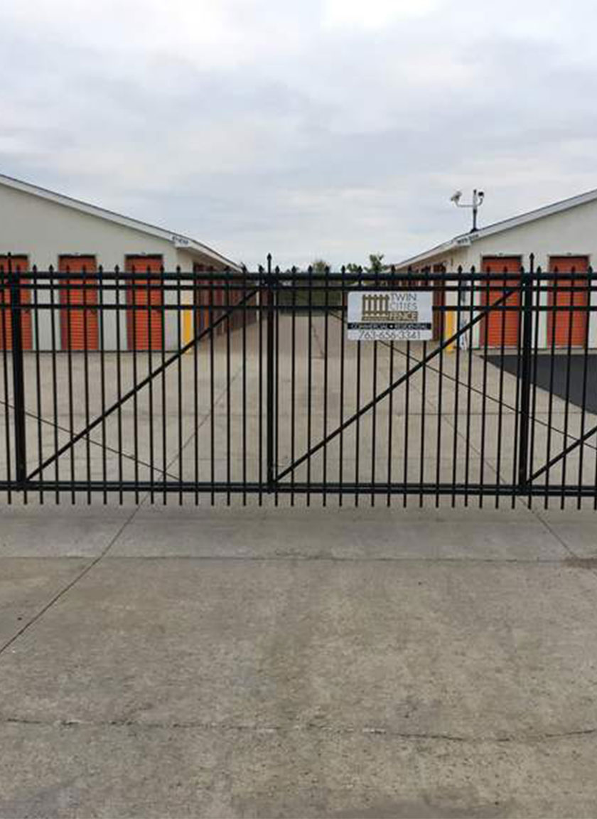 Commercial Fencing System installed by Twin Cities Fence: Fence Contractor in MN