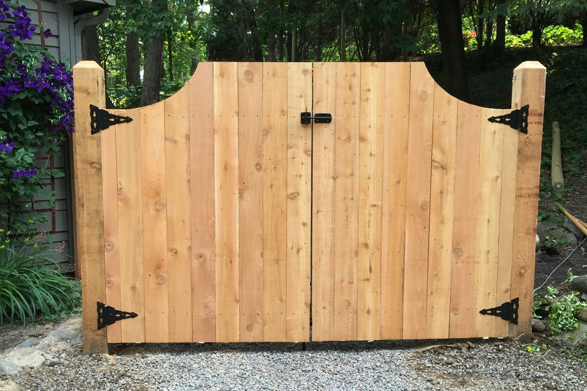 Gate System installed by Twin Cities Fence: Fence Contractor in MN