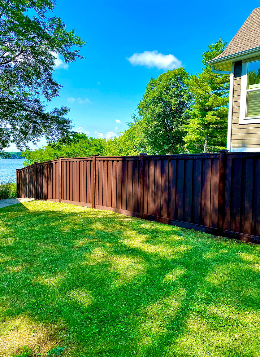 Privacy Fencing System installed by Twin Cities Fence: Fence Contractor in MN